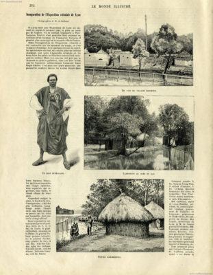 1894.06.02 Le Monde Illustré S. 352 - Exposition Universelle Lyon 1