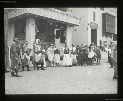 1901 Pan-American Exposition - Cairo - Musicians 2