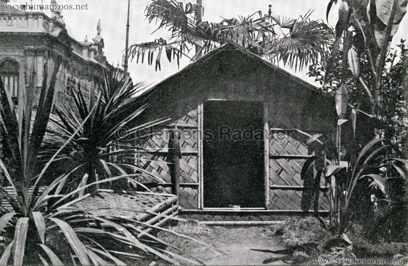 1909 Fêtes Coloniales Anvers - Village Noir 3