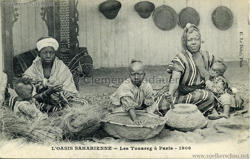 1909 L'Oasis saharienne - Les Touareg a Paris 4