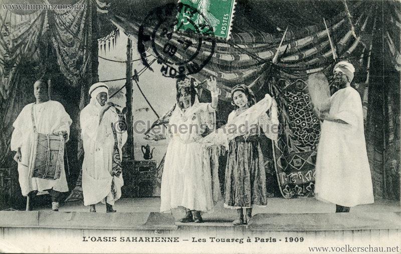 1909 L'Oasis saharienne - Les Touareg a Paris 5