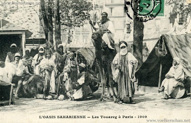 1909 L'Oasis saharienne - Les Touareg a Paris 6