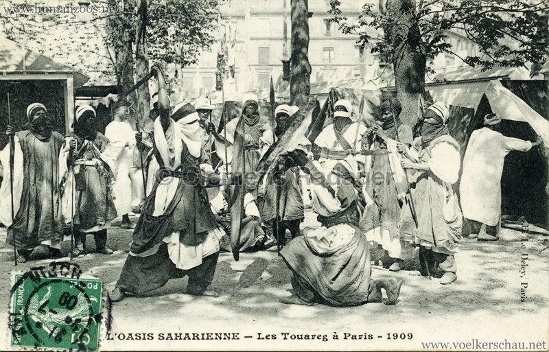1909 L'Oasis saharienne - Les Touareg a Paris 7