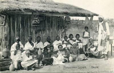 1909/1910 Aarhus - Abessinier Lejren - Skole