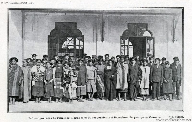 1911.04.30 Blanco Y Negro - Igorrotes a Barcelona