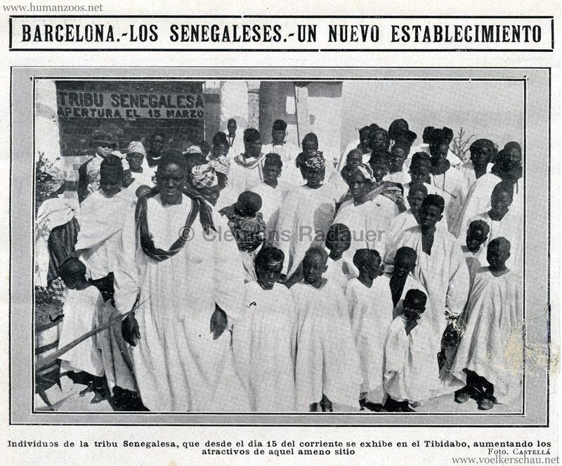 1913 Los Senegaleses Barcelona