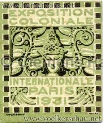 1931 Exposition Coloniale Internationale Paris - Jeton