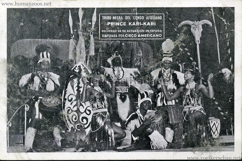 1954 Circo American - Kari-Kari VS