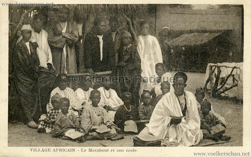 Village Africain - Le marabout et son ecole