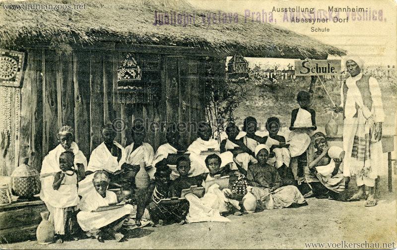 1908 Jubilejni vystava Praha. Habesska vesnice 12 VS