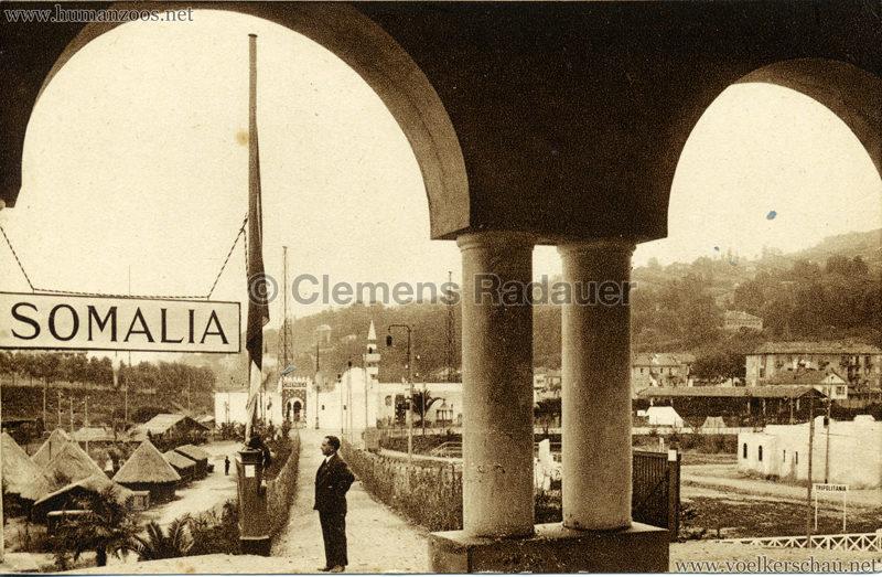 1928 Esposizione Torino - Villaggio Somalo 3