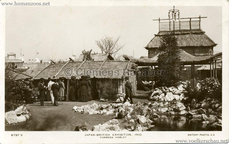 1910 Japan-British Exhibition - Formosa Hamlet