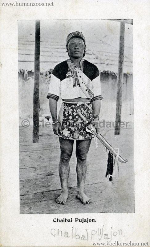1910 Japan-British Exhibition - Formosa Village - Chaibai Pujajon VS