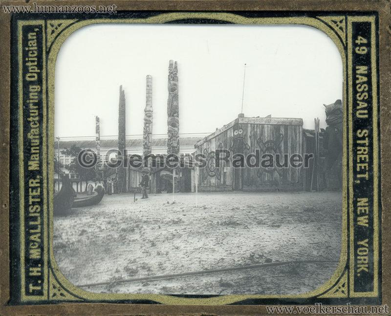 1893 World's Fair Chicago - Alaskan Village GLASSDIA mix