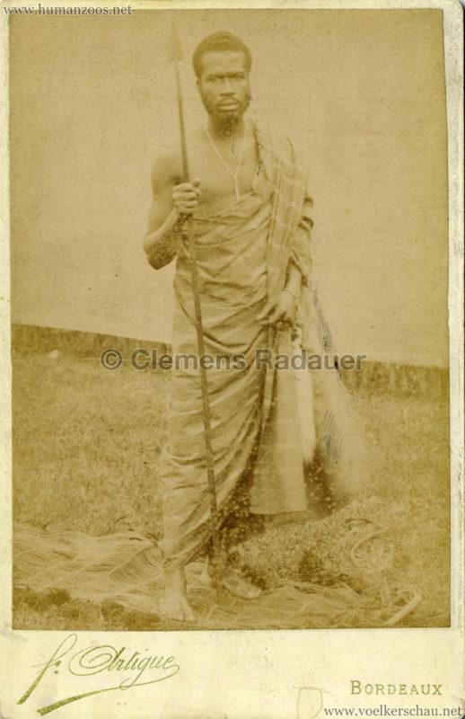 1895 Exposition de Bordeaux (???) - Village Africain 1