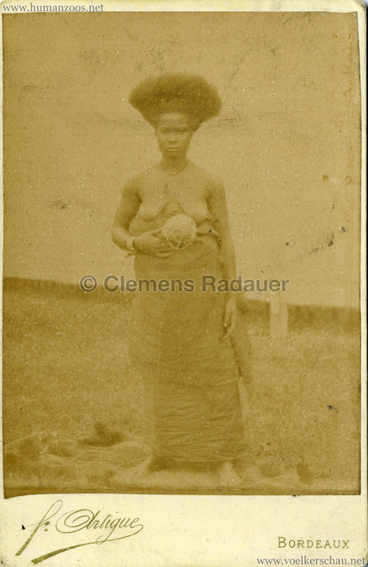 1895 Exposition de Bordeaux (???) - Village Africain 2
