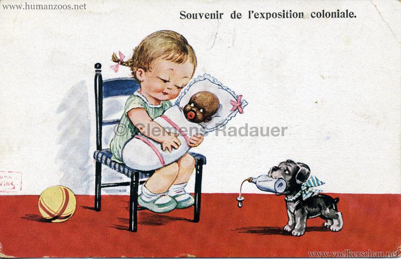1931 Exposition Coloniale - Souvenir de l'exposition coloniale