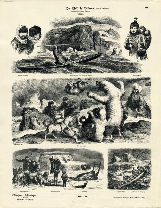 Münchener Bilderbogen - Die Welt in Bildern - 718 - Eskimos