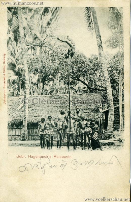 1900 Gebr. Hagenbeck's Malabaren 4