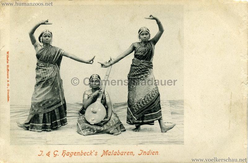 1900:1901 J. & G. Hagenbeck's Malabaren-Truppe -