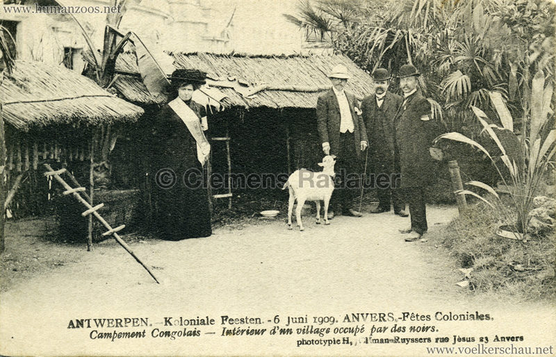 1909 Fêtes Coloniales Anvers - Village Noir 4