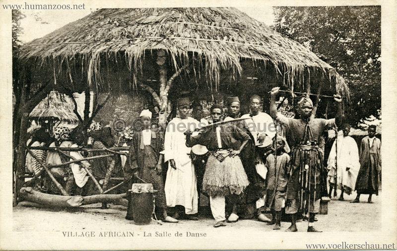 Village Africain - La salle de dance