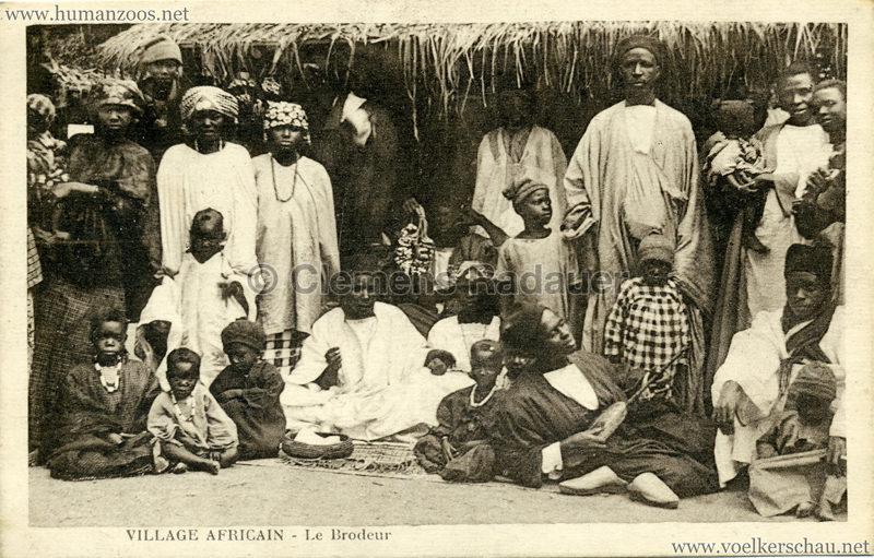 Village Africain - Le brodeur