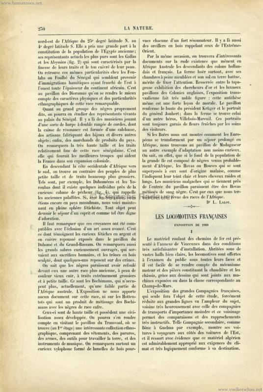 1900 La Nature - L'Afrique a l'Exposition Universelle 2