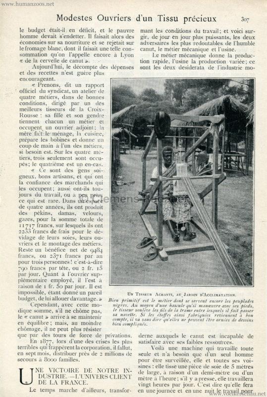1904 Modestes Ouvriers d'un tissu precieux ACHANTIS