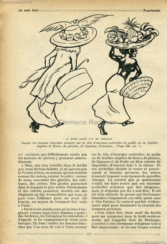 1908 Les Gallas - Jardin d'Acclimatation ARTIKEL 2