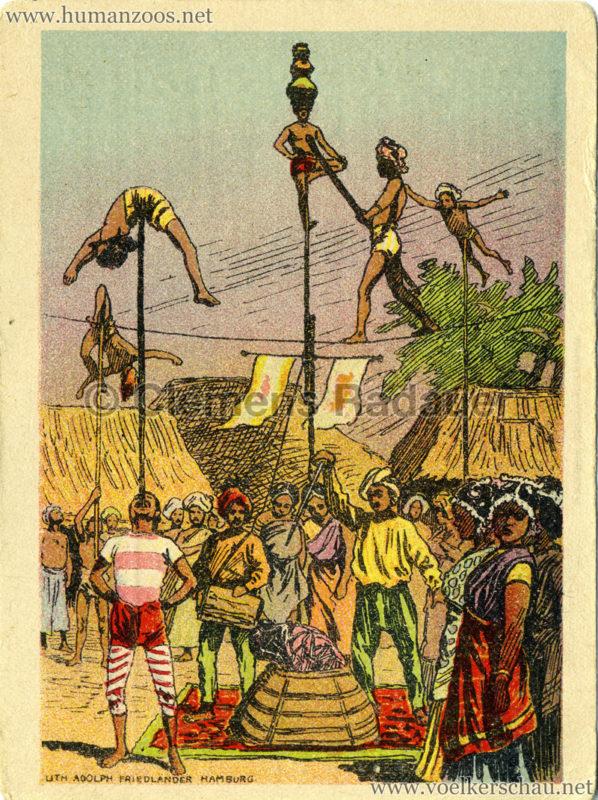 1910/1911/1912 Gustav Hagenbeck's größte Indische Völkerschau der Welt