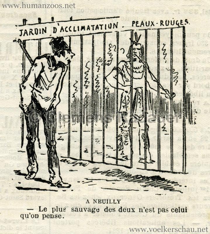 1883 Le Charivari - Peaux Rouges 2