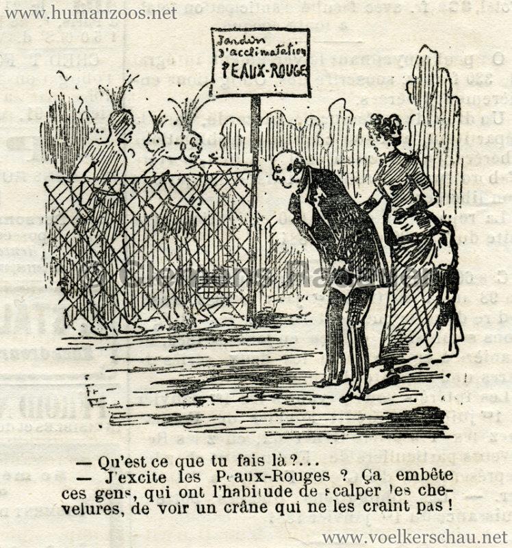 1883 Le Charivari - Peaux Rouges 3