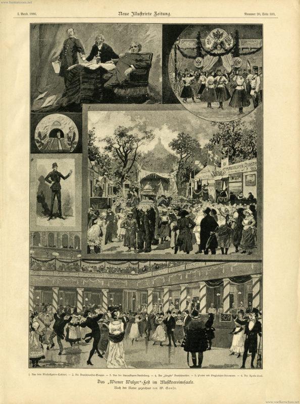 1886 Singhalesen-Karawane im Prater