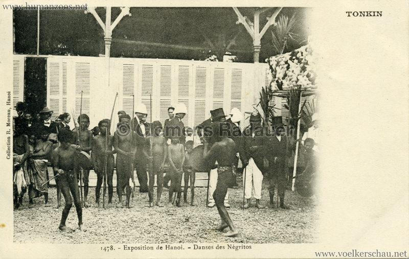 1902 Exposition de Hanoi - 1478. Danses des negritos