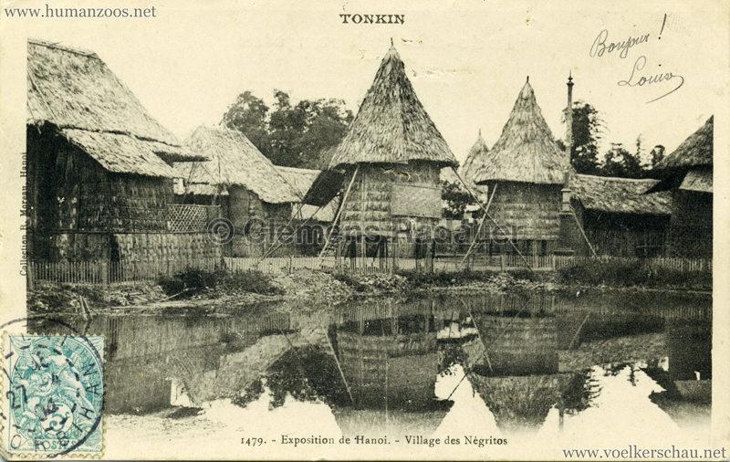 1902 Exposition de Hanoi - 1479. Village des Negritos