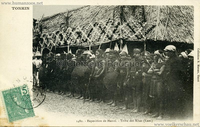 1902 Exposition de Hanoi - 1482. Tribu des Khas (Laos)
