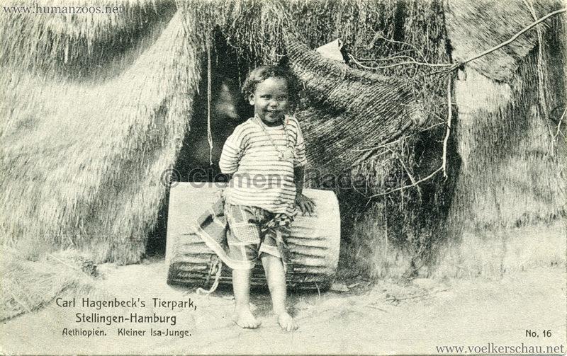 1909 Hagenbeck Aethiopien - 16. Kleiner Isa-Junge VS