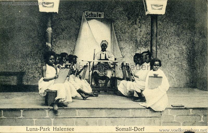 1910:1911 Lunapark Halensee - Somali-Dorf 9 VS