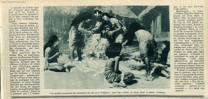 1931.07.16 Mon Cine No 491 - L'Exposition Coloniale et le Cinema 2