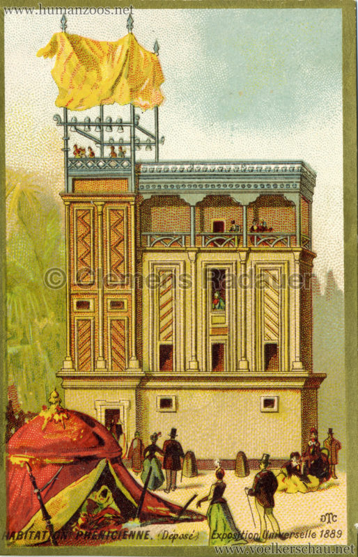 1889 Exposition Universelle Paris - Habitation Phenicienne