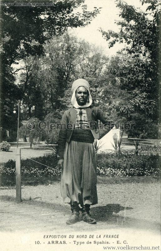 1904 Exposition d'Arras - 10. Type Sepahis