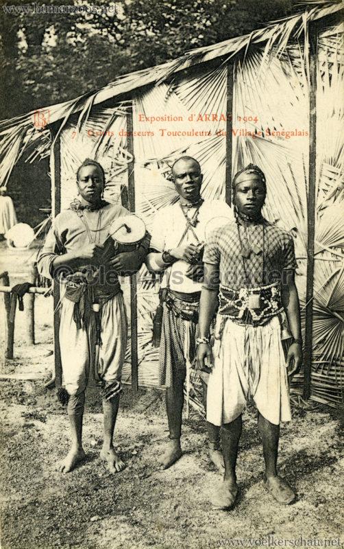 1904 Exposition d'Arras - 7. Griots danseurs Toucouleurs