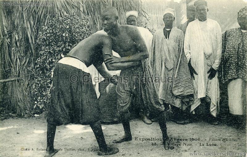 1906 Exposition d'Angers - 28. La Lutte