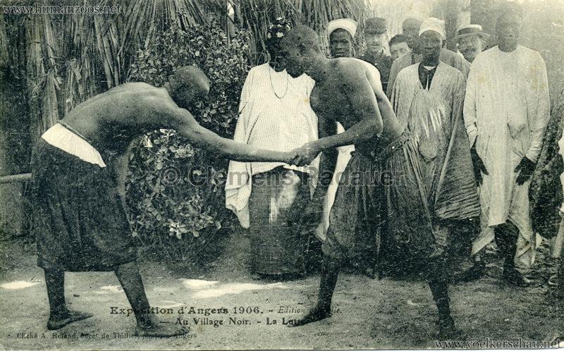 1906 Exposition d'Angers - 39. La Lutte