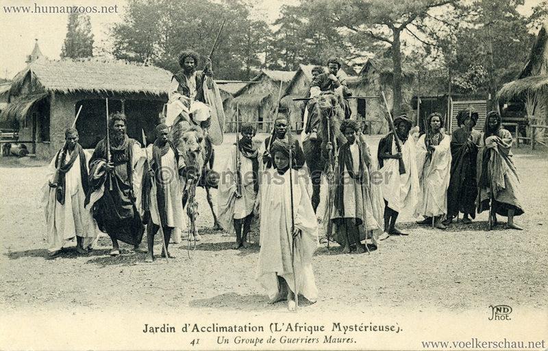 1910 L'Afrique Mystérieuse - Jardin d'Acclimatation - 41. Un Groupe de Guerriers Maures