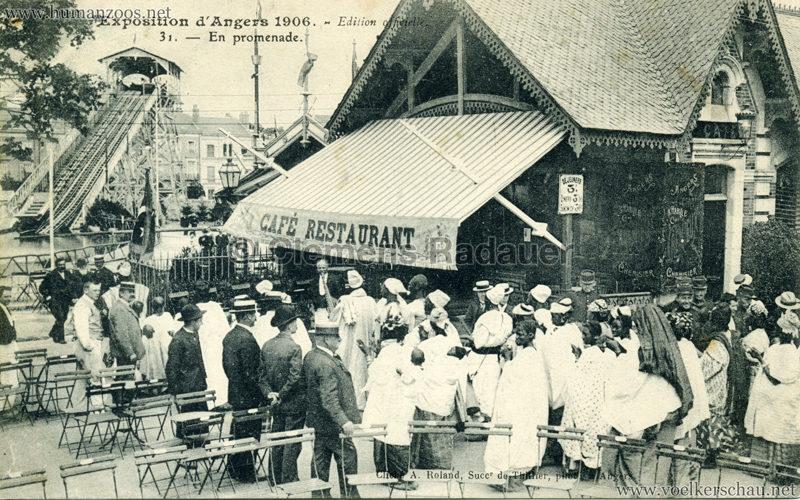 1906 Exposition d'Angers - 31. En promenade