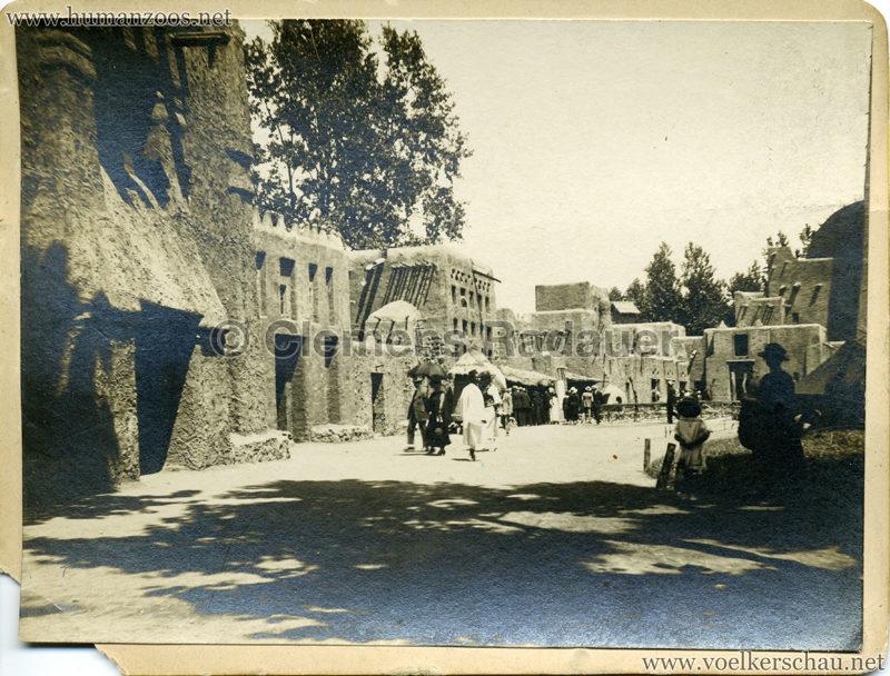 1922 Exposition Coloniale Marseille FOTO - Serie 4 Cour Afrique
