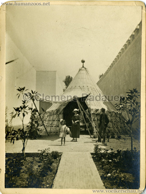 1922 Exposition Coloniale Marseille FOTO - Serie 4 Tente Arabe