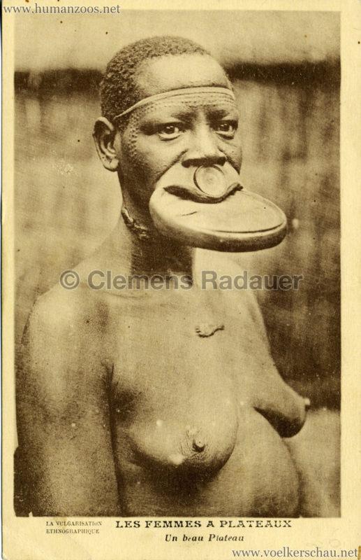 1931 Les Femmes a Plateaux - Un beau plateau